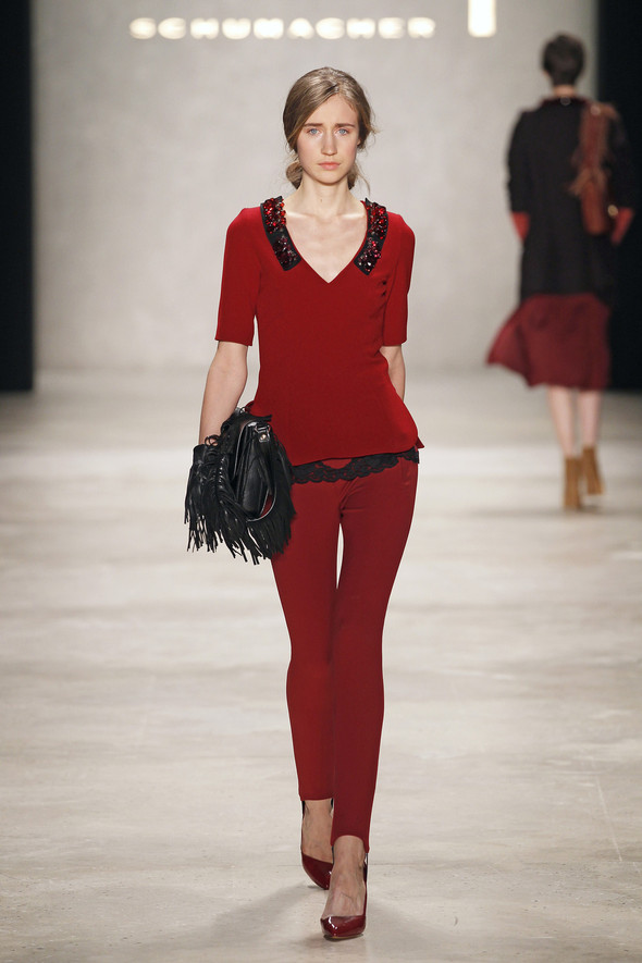 Berlin Fashion Week A/W 2012: Schumacher. Изображение № 11.