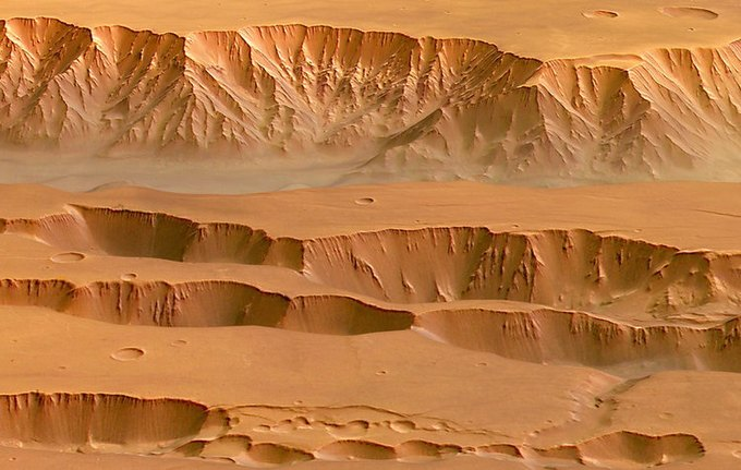 Появились первые подробные 3D-карты Марса. Изображение № 2.