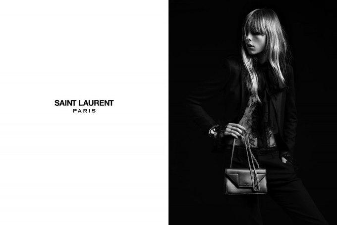 Бек и Эди Кэмпбелл снялись в кампании Saint Laurent. Изображение № 10.