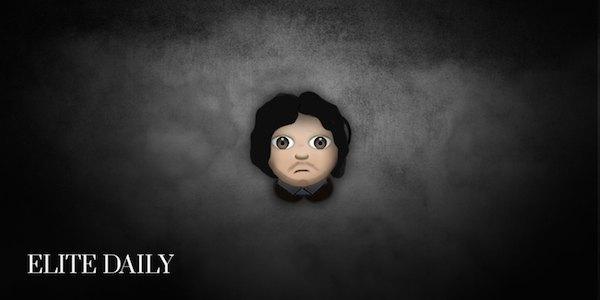 Персонажей «Игры престолов» переделали в Emoji. Изображение № 3.