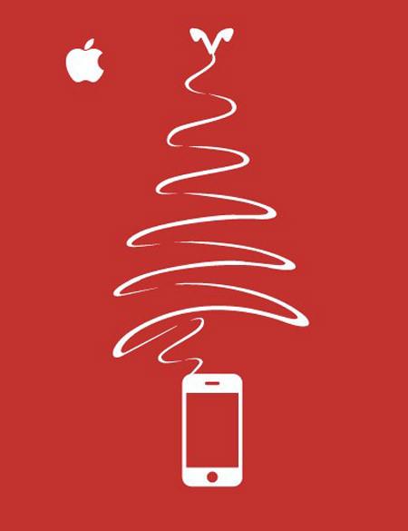 Новогоднее - Рождественский креатив в рекламе. Изображение № 55.