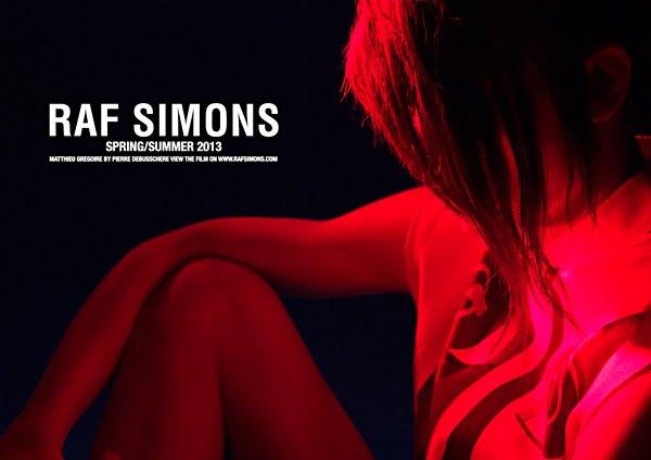 Показана новая кампания Raf Simons. Изображение № 5.