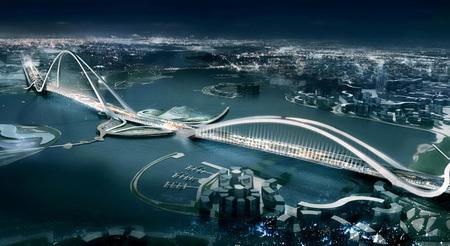 Крупнейший вмире мост будет построен вДубаи в2012г. Изображение № 2.
