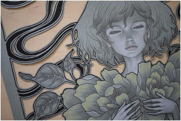 Новые работы Audrey Kawasaki. Изображение № 7.