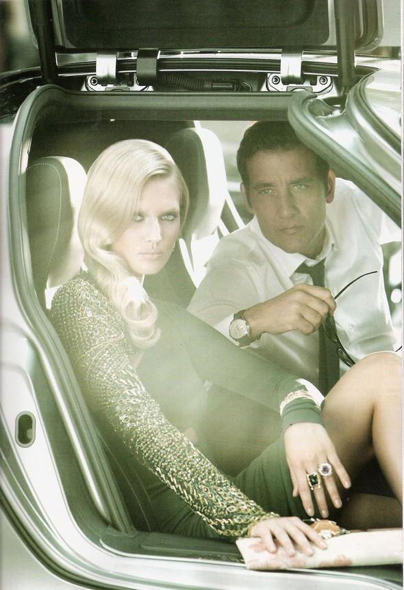 Съемка: Тони Гаррн и Клайв Оуэн для Vogue. Изображение № 9.