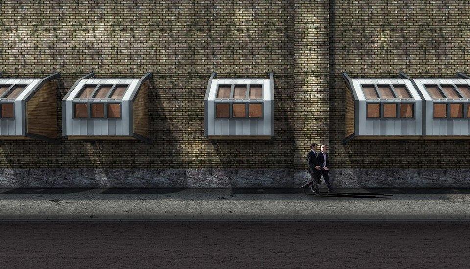 Фото: необычные проекты жилья для бездомных . Изображение № 8.