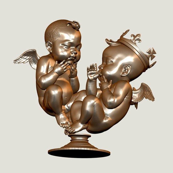 Художник создал скульптуры звездных плодов на основе данных УЗИ. Изображение № 1.