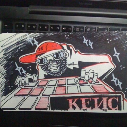 Граффитчик Илья Кейс на ART Vegas. Изображение № 7.