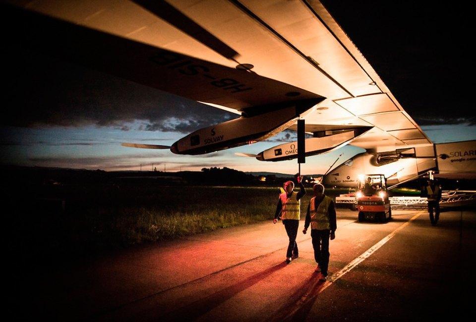 Первый самолёт  на солнечной энергии,  который долетит  на край света. Изображение № 2.