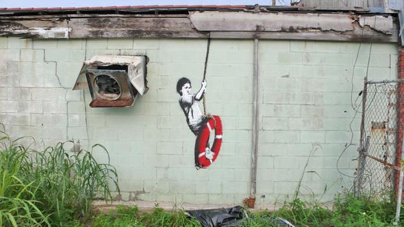 Изображение 24. Banksy (уличная мышь – герой).. Изображение № 24.