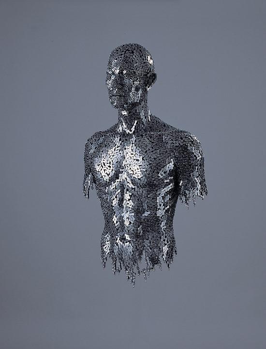 Скульптуры из цепей от Yeong-Deok Seo. Изображение № 10.