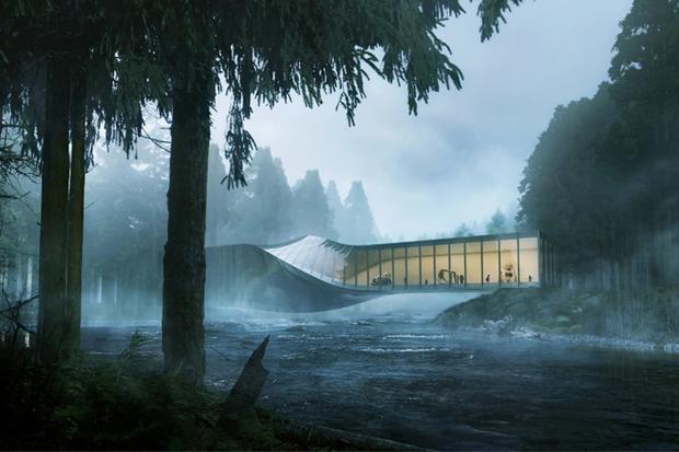 Архитектура дня: «перекрученный» музей авторства BIG под Осло. Изображение № 1.