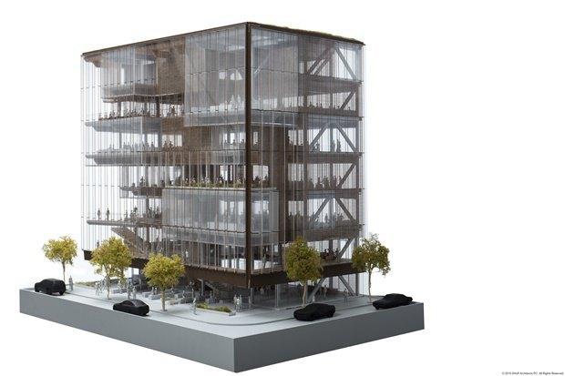 Uber представил проект будущей штаб-квартиры в Сан-Франциско. Изображение № 5.