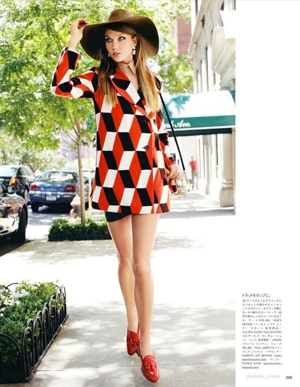 Съёмка: Карли Клосс для японского Vogue. Изображение № 5.
