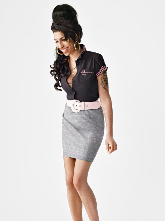 Amy Winehouse for Fred Perry. Изображение № 7.