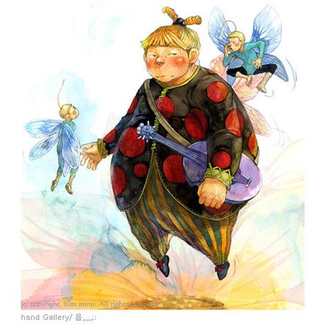 Kimmin ji– акварель видеальном исполнении. Изображение № 31.