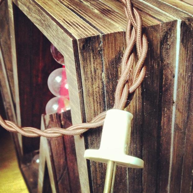 Винтажная, ламповая буква. Изображение № 7.