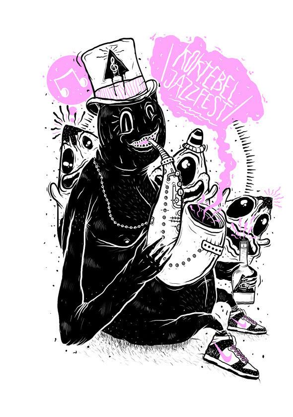Изображение 10. Кастинг принтов для футболок SEKTA: Koktebel Jazz Fest.. Изображение № 7.