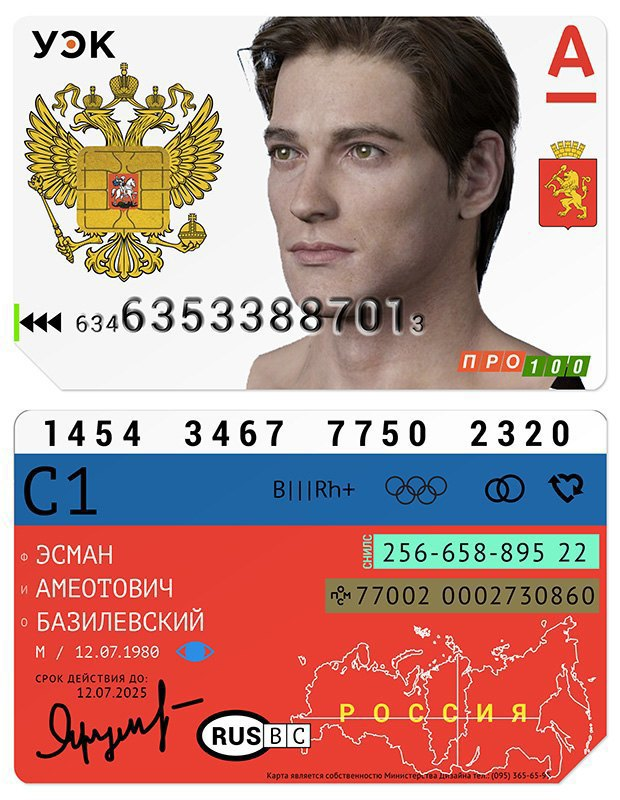 Редизайн: Универсальная электронная карта гражданина России. Изображение № 7.