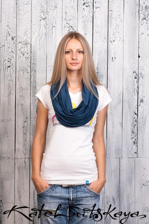 Осенняя коллекция ярких шарфов-снудов. Изображение № 6.