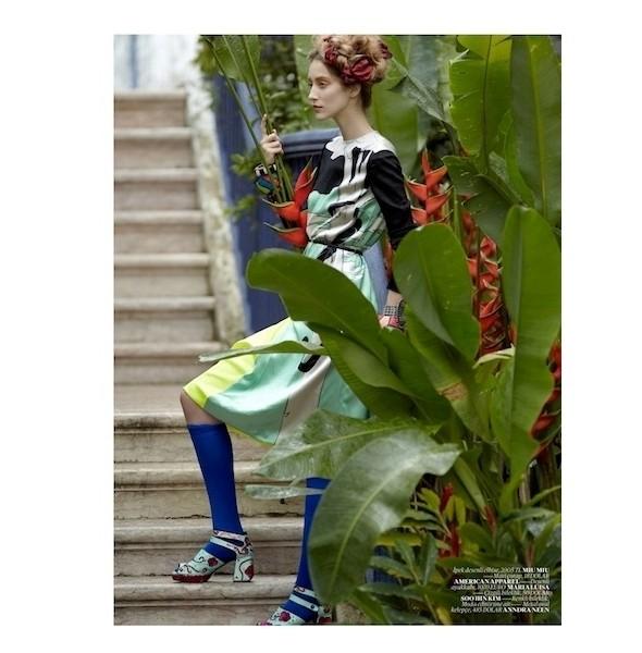 Изображение 42. Съемки: 10, Elle и Vogue.. Изображение № 41.