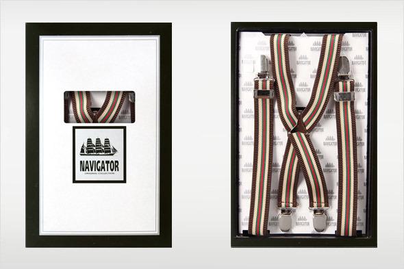 Коллекция подтяжек «Навигатор» от Sevaro Elit . Изображение № 15.