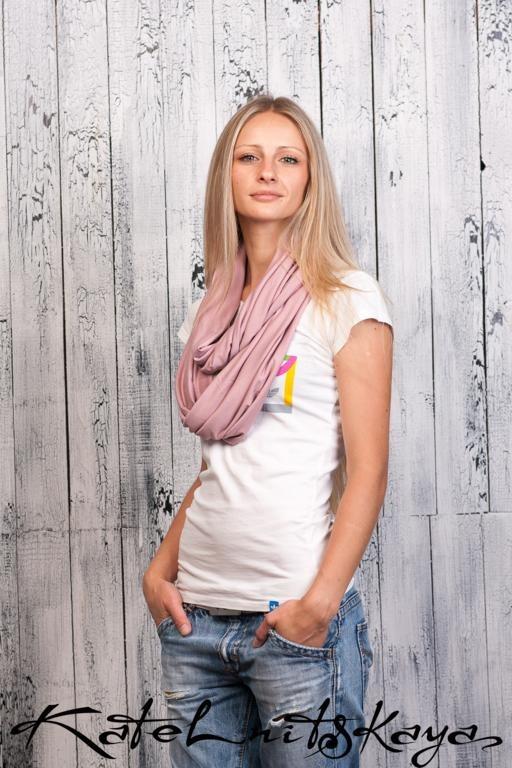 Осенняя коллекция ярких шарфов-снудов. Изображение № 12.