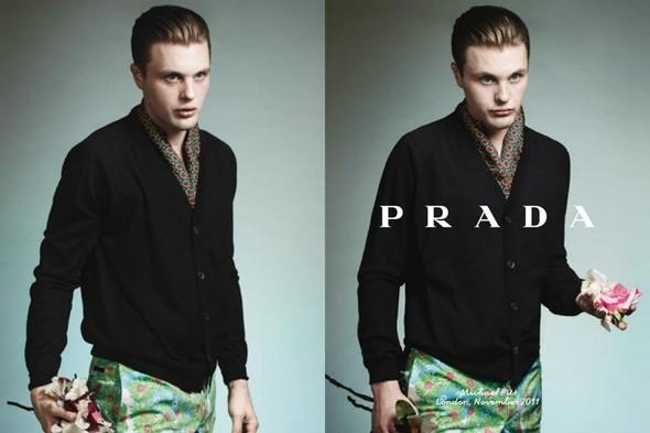 Кампания: Майкл Питт для Prada. Изображение № 3.