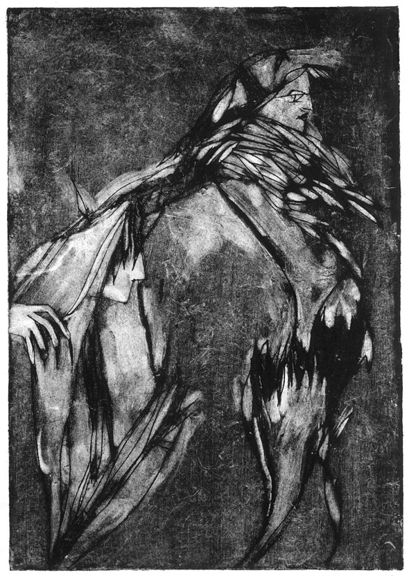 Ручная графика Ирины Сазоновой «Эхо». Изображение № 5.