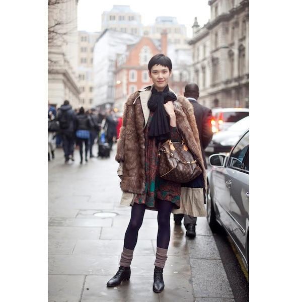 Изображение 39. На полях: 10 тенденций уличного стиля с прошедших недель моды.. Изображение № 39.