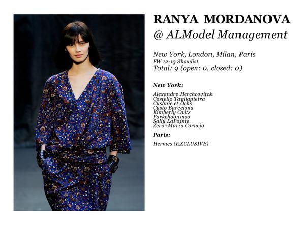 Al Model Management: Сезон показов осень-зима 12.13. Изображение № 3.
