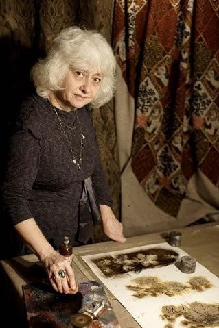 Ручная набойка по ткани: Е.А.Шнайдер и Н.Чурбакова. Изображение № 1.