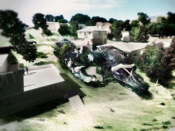 Архитектор предложил концепцию «биологического» дома. Изображение № 1.