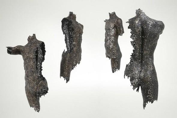 Скульптуры из цепей от Yeong-Deok Seo. Изображение № 1.