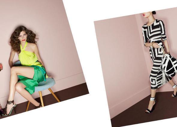 Изображение 16. Рекламные кампании: Diane von Furstenberg, Karl Lagerfeld, McQ и другие.. Изображение № 3.