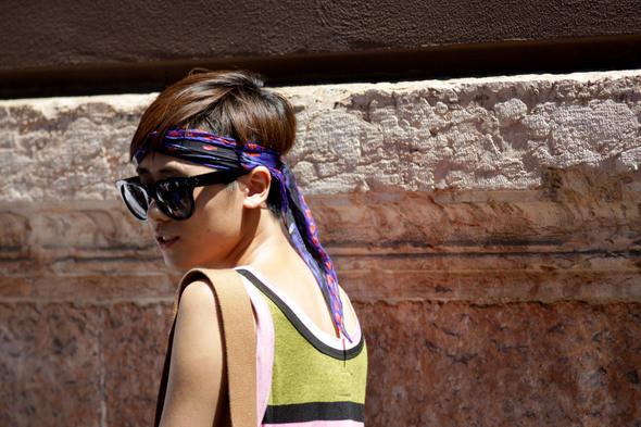 Изображение 5. Девушки на Milan Fashion Week: день 2.. Изображение № 5.