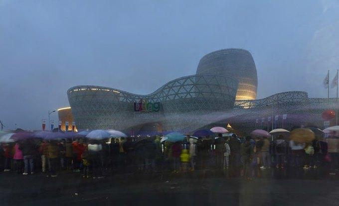 Архитектура дня: музей керамики со зданиями в форме чаш в Китае. Изображение № 8.