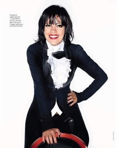 Lily Allen by Karl Lagerfeld for Elle december09. Изображение № 2.