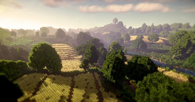В Minecraft собрали Шир из «Властелина Колец» . Изображение № 3.