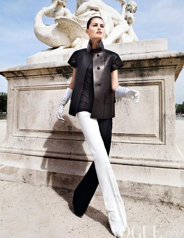 Съемка: Изабели Фонтана для мексиканского Vogue. Изображение № 5.