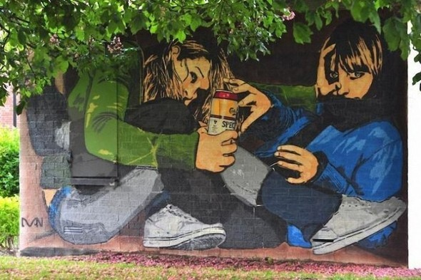 Изображение 31. Бристоль. Художественное граффити.. Изображение № 33.