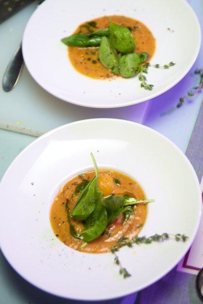 В ресторане Река прошел «оранжевый» кулинарный мастер-класс и ужин. Изображение № 11.