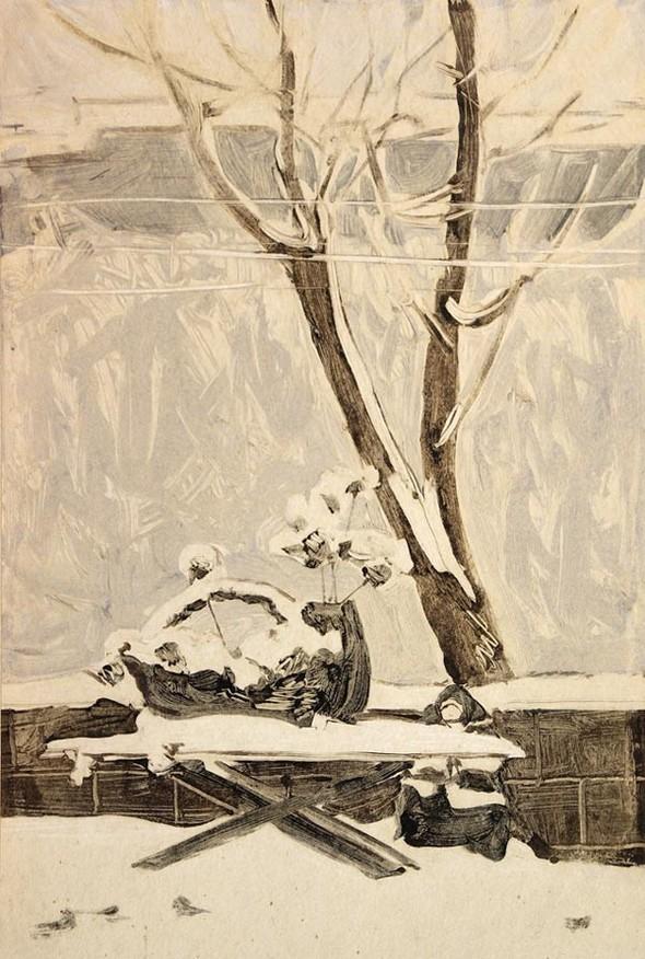 Леонид Сойфертис. рисунок, карикатура. Изображение № 14.