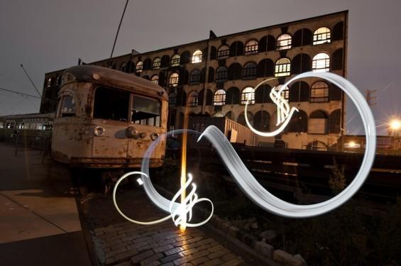Да будет свет: 7 мастеров по световым граффити. Изображение № 9.