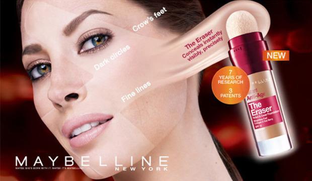Рекламе Maybelline, еще одной фирмы L'Oreal, никто не поверил. Изображение №3.