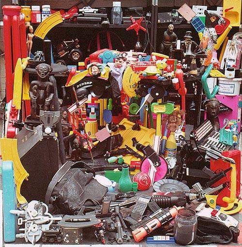 Картины из мусора. Изображение № 18.