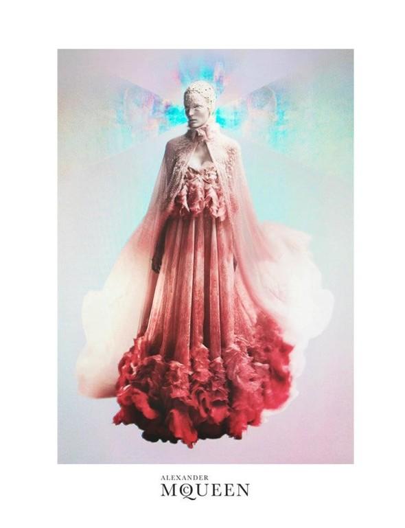 Кампания: Зузанна Биёх для Alexander McQueen SS 2012. Изображение № 3.