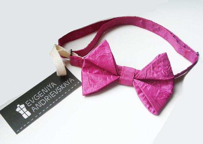 Фееричные галстуки - бабочки от дизайнера Евгении Андриевской.. Изображение №2.