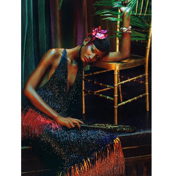 Изображение 3. The Blackallure: съемка с темнокожими моделями в итальянском Vogue.. Изображение № 3.