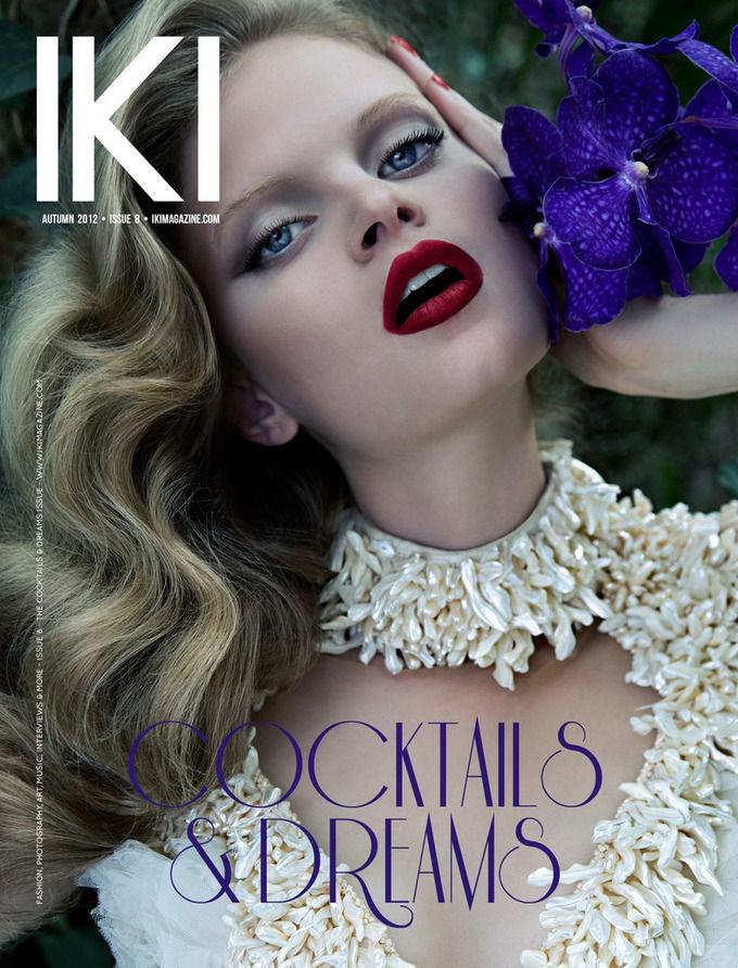 Вышли новые обложки Numero, W, Bon и других журналов. Изображение № 4.